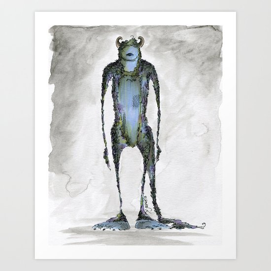 Monsters 2 Art Print