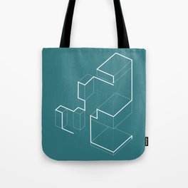 tracking the explosion Tote Bag