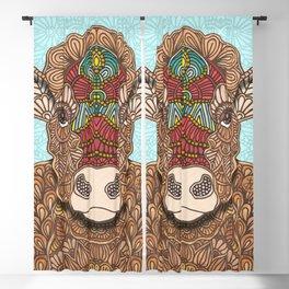 Frida the cow Blackout Curtain