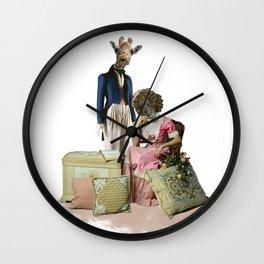 Funny Animal Couple Wall Clock