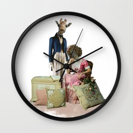 Funny Animal Couple Wall Clock