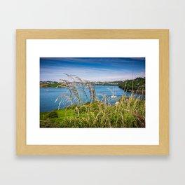 View of Kinsale, Ireland from Summer Cove Framed Art Print