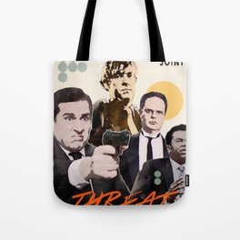 Threat Level Midnight Tote Bag