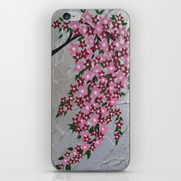 portait vertical flowers painting art blossom blossoms sakura Japanese pretty picture pictures iPhone Skin