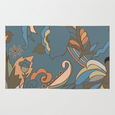 Modern Abstract Shapes Rug