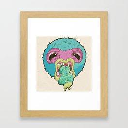 Halitosis Framed Art Print