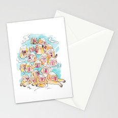 Wild Family Series - Snow Monkey Stationery Cards