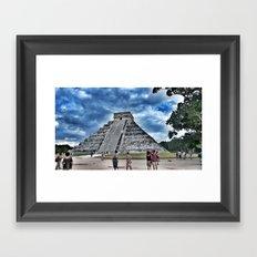 Pyramid 2 Framed Art Print