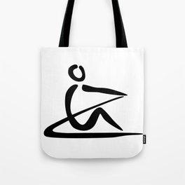 Rowing Logo 1 Tote Bag