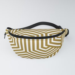 Sand dune - brown - Minimal Vector Seamless Pattern Fanny Pack