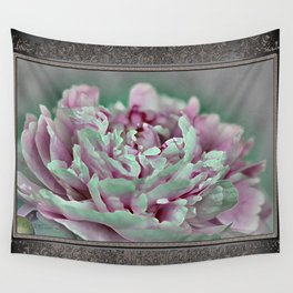 Peony named Shirley Temple Wall Tapestry