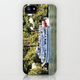 Minne-Ha-Ha Steamboat on Lake George iPhone Case