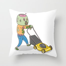 My Personal Zombie Throw Pillow