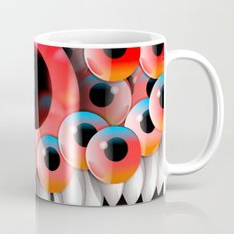 Eyeball Monster Coffee Mug