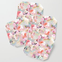 Love of a Flower Coaster