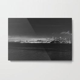 Across the Bay Metal Print