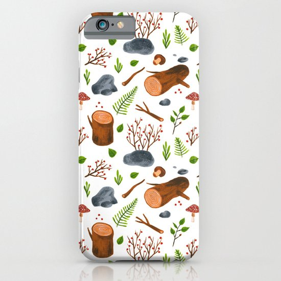 Woods iPhone & iPod Case