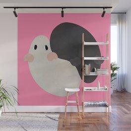 Yin Yang Guinea Pigs Wall Mural