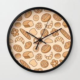 Bread Paradise Wall Clock