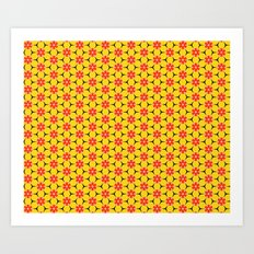 Vandenbosch Yellow Art Print