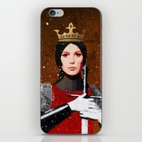 queen iPhone & iPod Skins featuring Queen by Ed Pires