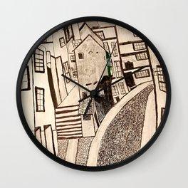 The Streets of Bristol 1876 Wall Clock