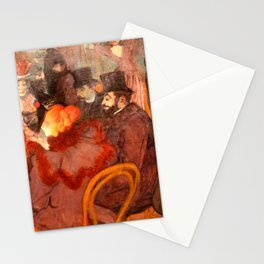 "Henri de Toulouse-Lautrec ""At the Moulins Rouge"" Stationery Cards"