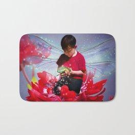 Red Bug Fairy Bath Mat