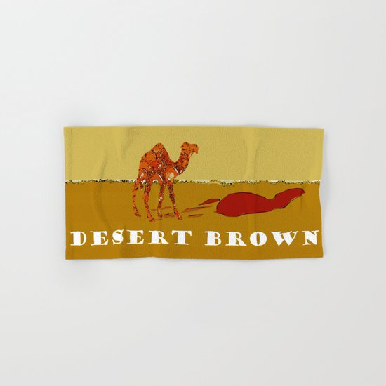Desert Brown Hand & Bath Towel