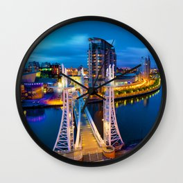 Imperial War at Salford Quays Manchester Wall Clock