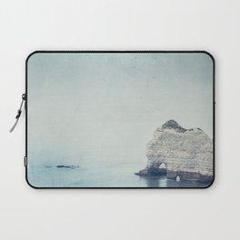 Falaise d'Amont - Côte d'Albatre Normandie France Laptop Sleeve