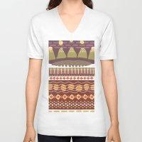 colorado V-neck T-shirts featuring Colorado by Emanuel Adams