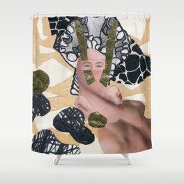 Larva Shower Curtain
