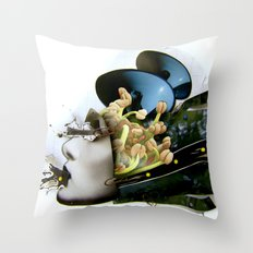 AiVee portrait | Collage Throw Pillow