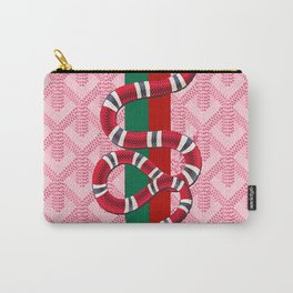 Goyard Pink Guci Carry-All Pouch