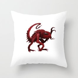 Space Monster Throw Pillow