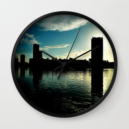 Nascer do dia Wall Clock
