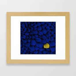 Happy abstract: Seaworld Nr:01 Framed Art Print