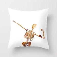 Mr Universe Throw Pillow