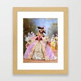 Victorian Masquerade Ball Framed Art Print