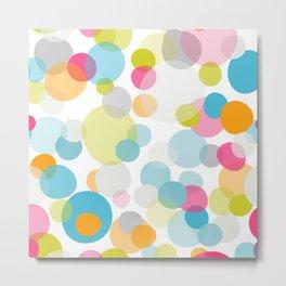Multi dots Metal Print