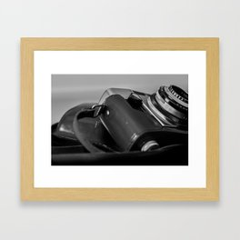 vintage camera culture_1 Framed Art Print