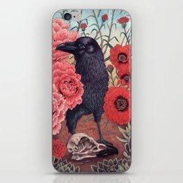 Crow Effigy iPhone Skin