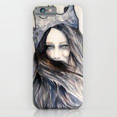 Snow Storm // Fashion Illustration iPhone 6s Slim Case