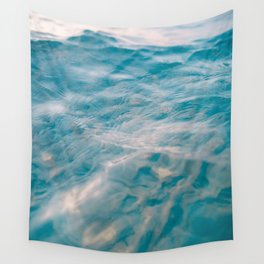 on the water Wall Tapestry