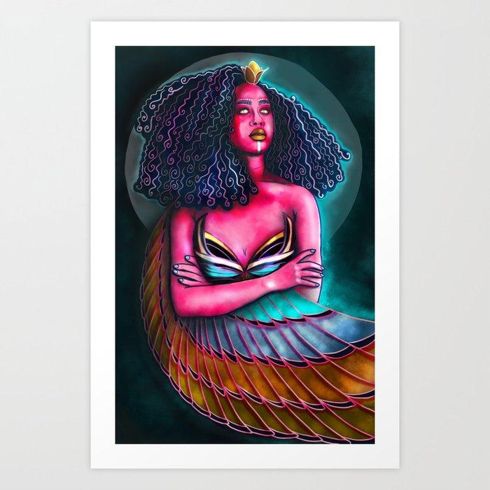 The Goddess: Isis Art Print