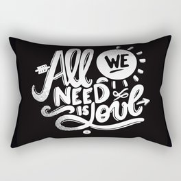ALL WE NEED IS SOUL Rectangular Pillow