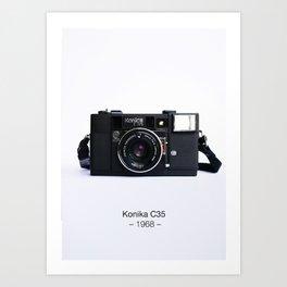 Konika C35 Art Print