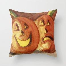 Jack-O-Lanterns Throw Pillow