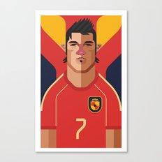 DV7   La Roja Canvas Print